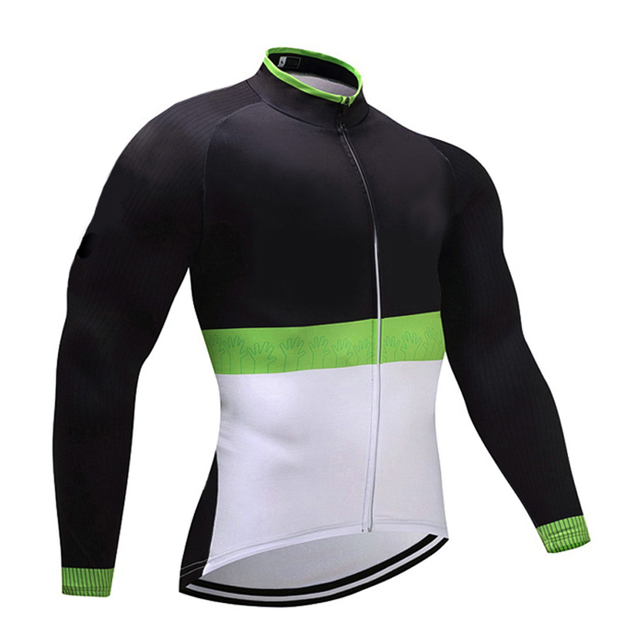 Wholesale 2018 UCI Green Winter Pro Team Cycling Jersey MTB Ropa Ciclismo  mens women THERMAL FLEECE bicycling Maillot bike wear 57bd26090