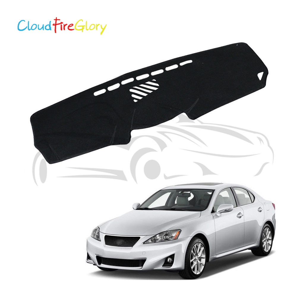 CloudFireGlory For <font><b>Lexus</b></font> <font><b>IS200</b></font> IS250 IS350 IS300 2006-2013 LHD Dashboard Dashmat Dash <font><b>Mat</b></font> Pad Sun Shade Dash Board Cover Carpet image