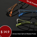 TR 90 Eyewear Sport Style Optical Glasses Frames Men and Women Black Eye Glasses