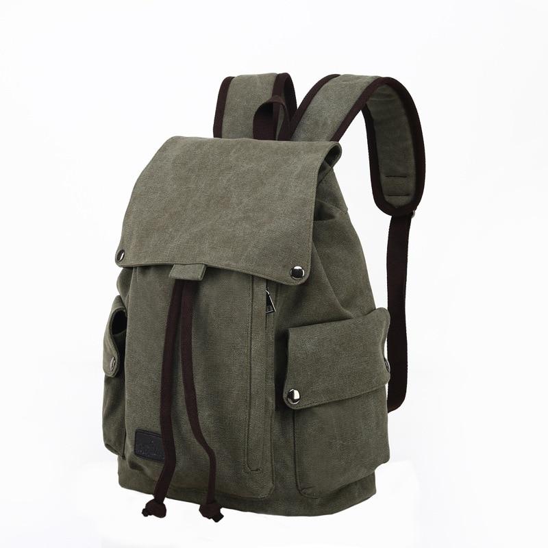 Laptop Computer Backpack Canvas Backpacks Teenage School Bag Travel Backpack Large Daypacks