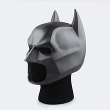 Huong Movie Figure The Dark Knight Batman Soft Helmet Cosplay Mask PVC Action Figure Toy Christmas Gift