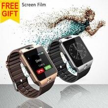 2016 Новинка Смарт-часы DZ09 с Камера Bluetooth наручные часы SIM карты SmartWatch для IOS телефонах Android Поддержка нескольких языков