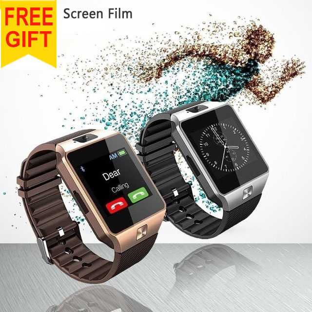 2016 New font b Smart b font font b Watch b font DZ09 With Camera Bluetooth