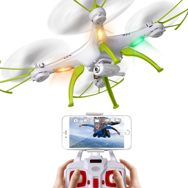 SYMA X5HW (W/ wifi real time) X5HC (no wifi real time) 6Axis 4CH RC Quadcopter Drone HD Camera 360 Roll Helicopter High Hover