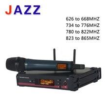 Yüksek kalite EW 135G3 UHF Kablosuz Mikrofon sistemi kablosuz karaoke mikrofon profesyonel