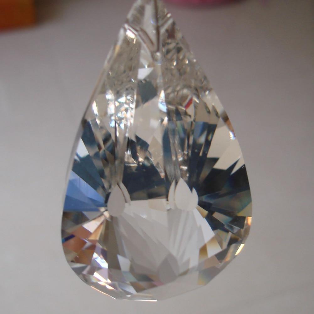 Crystal Chandelier Accessories: 15pcs/lot 50mm Ornament Crystal Prism Crystal Chandelier