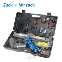 12 В электрический автомобиль двойного назначения Джек 5 т уровень супер мощность Универсальный крутящий момент гаечный ключ легко изменить