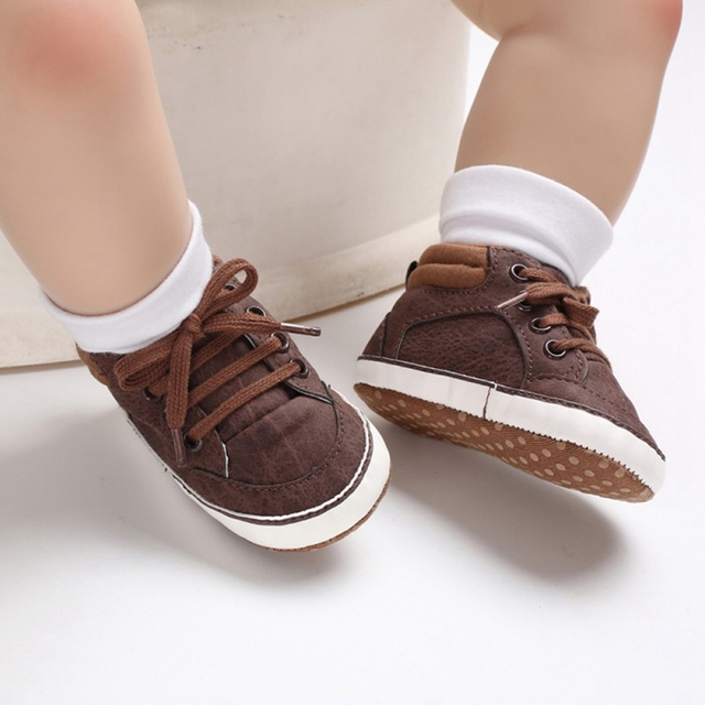 60ea472e0eb35 US $3.37 20% OFF|Aliexpress.com : Buy Baby Shoes Classic Sports Sneakers  Newborn Baby Boys First Walkers Infant Toddler Soft Sole Anti slip Baby Boy  ...