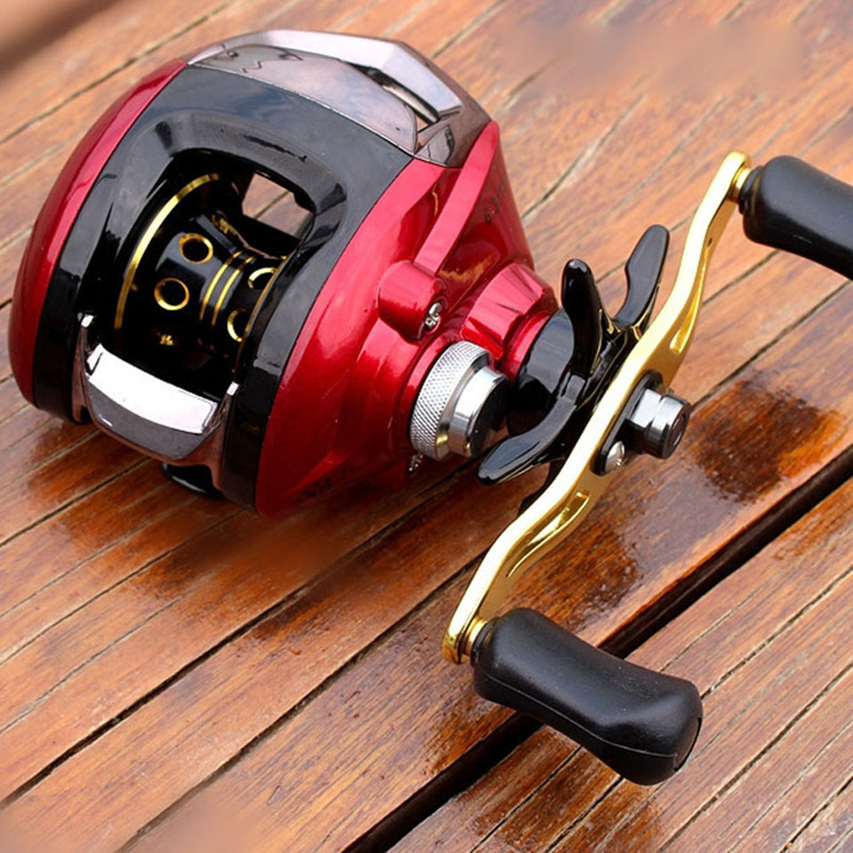 10+1BB 6.3:1 Baitcasting Fishing Reel Right/Left Hand Molinete Peche Baitcast Reels Carretilha Carretes Pesca 12 1bb 6 3 1 left right hand casting fishing reel cnc fishing reels carp bait baitcasting carretilha de pesca molinete shimano