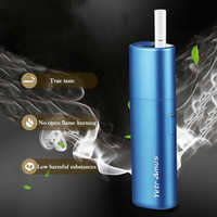 Vape kit heat not burn up to 20+ continuous smokable compatibility with stick 2900mah battery charged electronic cigarette