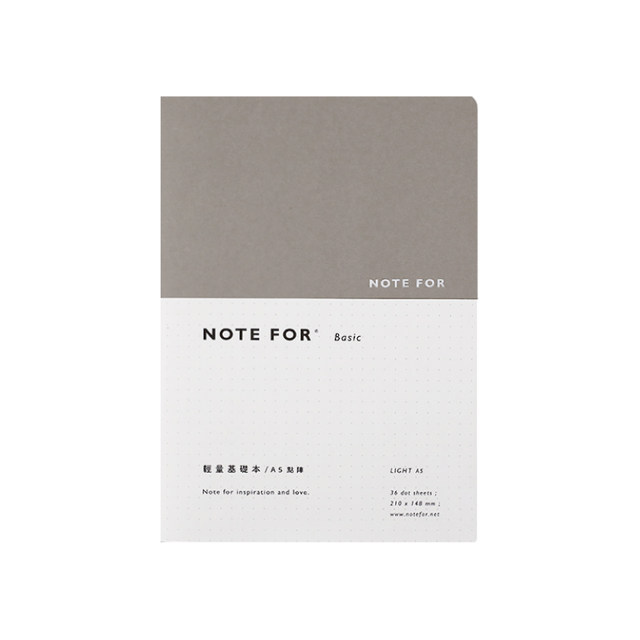 online shop note for basic series light type notebook simple ruled