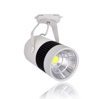 LED Track Lights 20W COB Rail light For Kitchen Clothes Shoes Shop Store Home Market Commercial Lamps Track Lighting