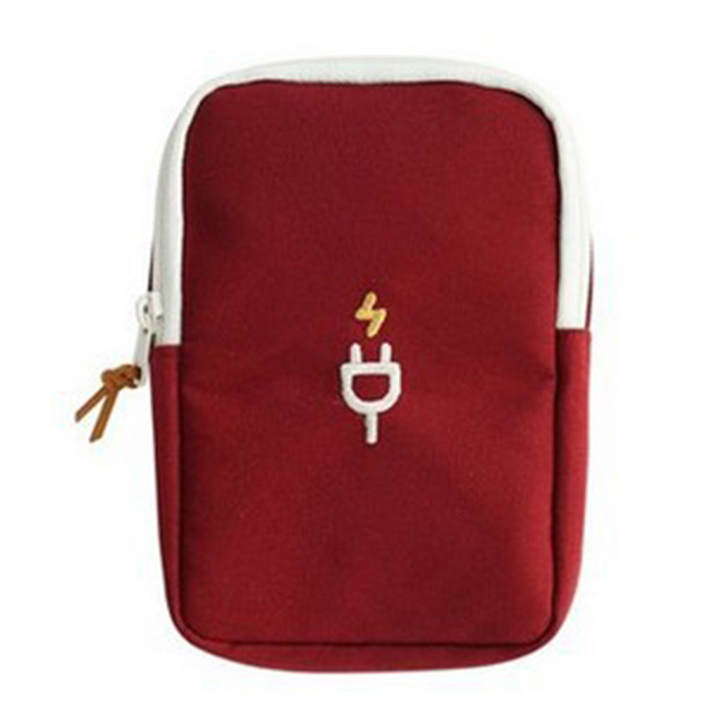 Earphone Cable Charging USB Tablet Phone Case Pouch Protector Travel Organiser