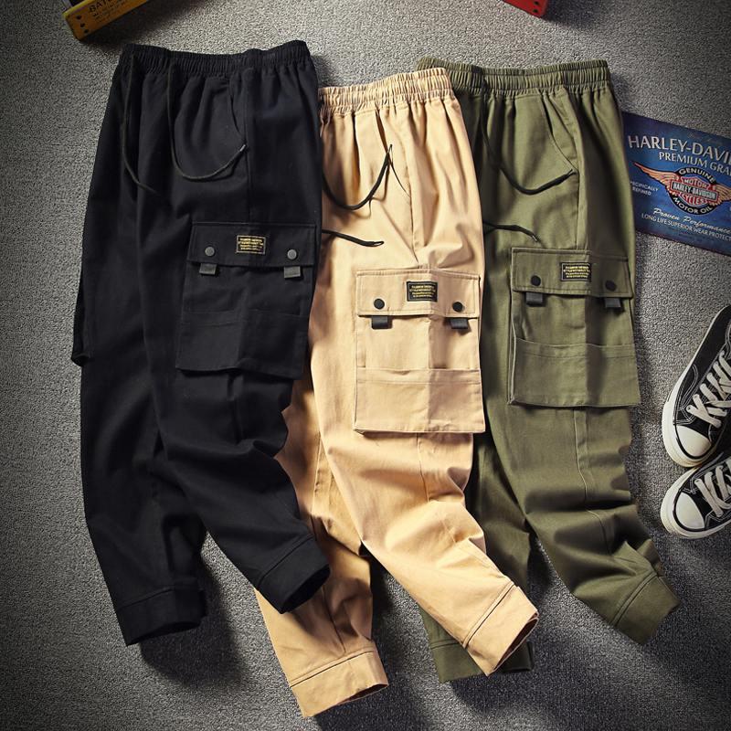 Cheap Wholesale 2019 New Autumn Winter Hot Selling Men's Fashion Casual Popular Long Pants MW45
