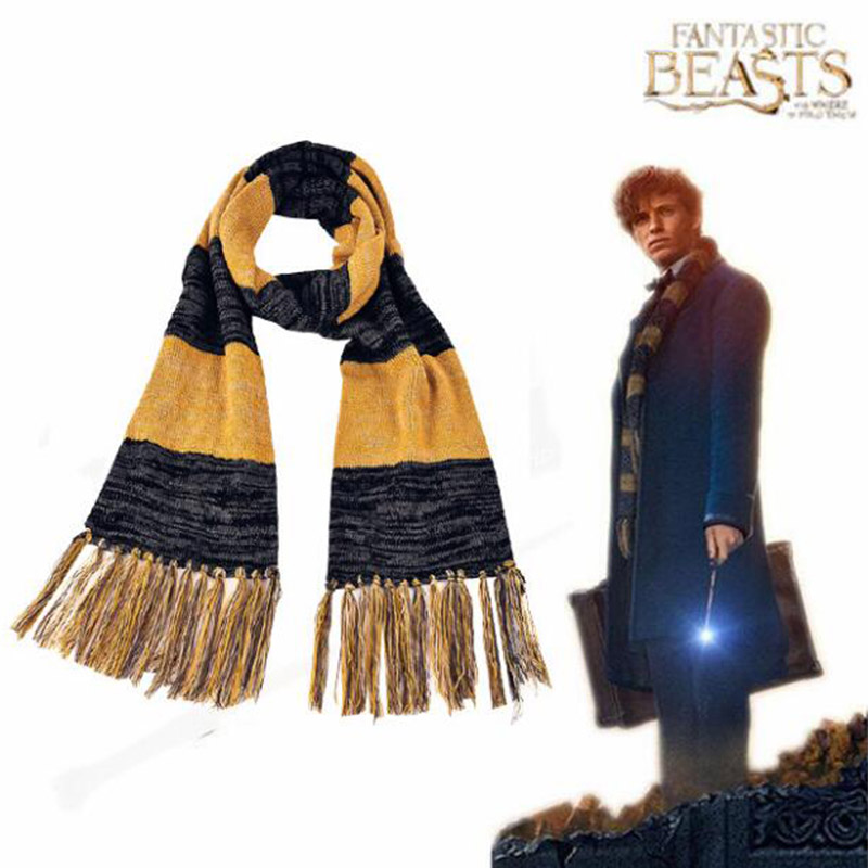 Newt Scamande Cosplay Scarf Fantastic Beasts and Where to Find Them Cosplay Cosplay Adult Men Magician Halloween Accessories