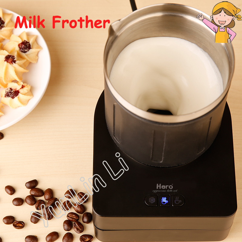 Electric Milk Frothers Coffee Milk Foaming Machine Automatic Milk Mixer Small Household Milk Mixing Machine