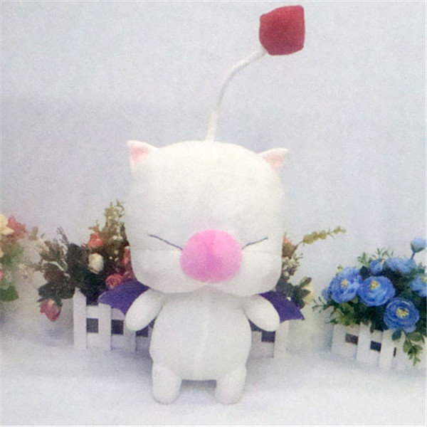 Final Fantasy 14 13 Moogle plush toy action figure mascot MOGLI cosplay plush doll 2 style pillow free shipping new high quality minnie mascot mouse mascot costume free shipping