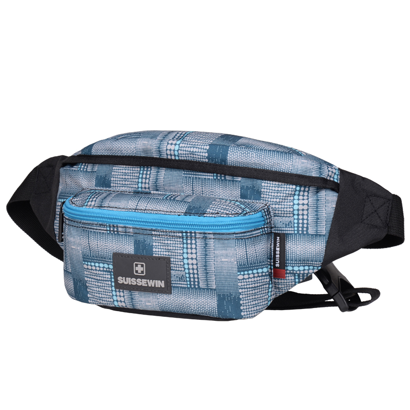 c85e882feea Suissewin Supreme Waist Pack Women Small Femme Girls Chest Bag Money Belt  Bag Camouflage Belly Bag Black Blue-in Waist Packs from Luggage   Bags on  ...