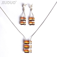 925 silver pendants empty care female items fall silver silver foil mosaic amber bead beads necklace brackets wholesal