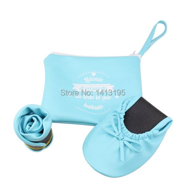 Femmes Livraison Bleu Ciel Spinge Ballerine Chaussures ChaussuresRouler Plier Gratuite2017 Pour IW92EHDY