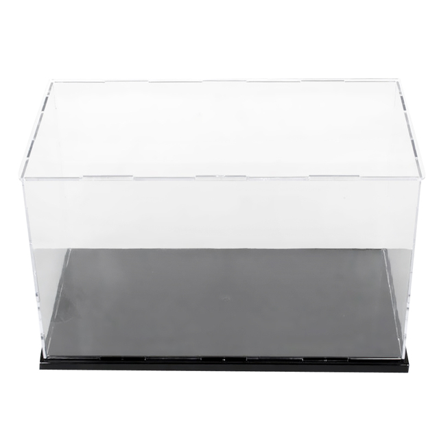 36x16x16cm Clear Acrylic Display Case Show Box for Action Figures Doll Model