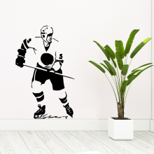 NEW hockey Art Sticker Waterproof Wall Stickers Nursery Room Decor Background Decal