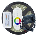 1Set 5M 150Leds 5050 RGB Led Strip LED Tape Ribbon Waterproof + 1PC 2.4G RGB Touch Sensor Controller + 1PC 12V 2A Power Adapter