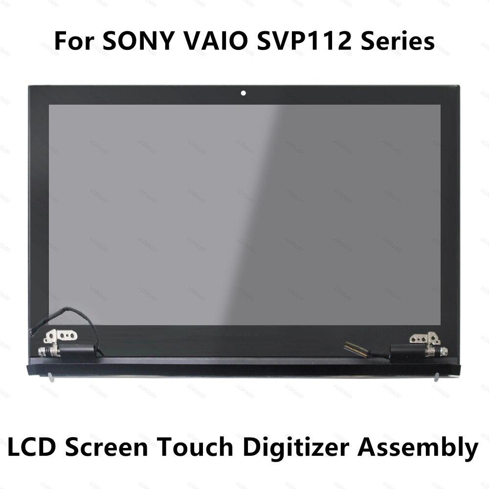 все цены на 11.6''Touch Glass Digitizer LCD Screen Display Assembly For Sony Vaio SVP112 Series SVP112A1CN SVP112A1CM SVP1121A2J SVP11216PXB онлайн