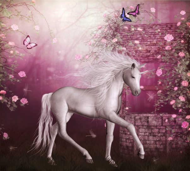 סוס לבן על רקע סגול בד וילון האפלת וילון מותאם אישית וילונות עבור חדר שינה וילון למטבח חדר רחצה