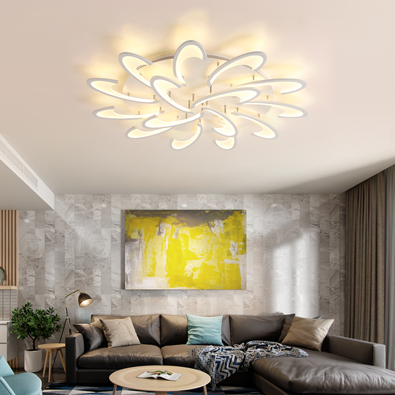 Ceiling Lights Lights & Lighting Remote Control Led Ceiling Light With Ultra-thin Acrylic Lamp Ceiling For Living Room Bed Room Flush Mount Lamparas De Techo