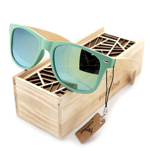Fashion Wooden Bamboo Sunglasses For Women