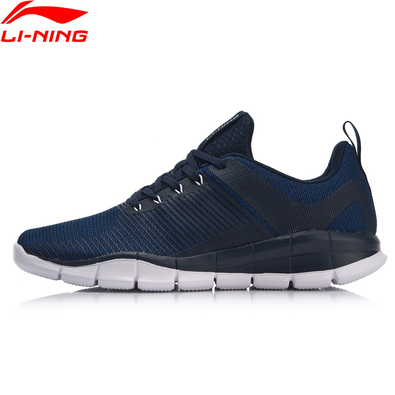 Li-Ning Men SUPER TRAINER Training Shoes Light-Weight Free Flexible LiNing Soft Comfort Sport Shoes Sneakers AFHN025 YXX037 cross training shoe