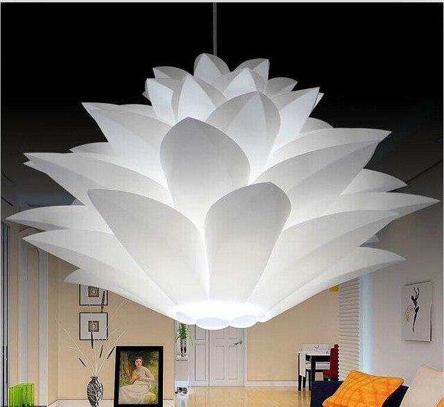 Lilie Blume Pendelleuchte Material PVC 35/44/55 CM Lotus Form ...