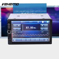 New 7 Inch Car Vehicle GPS Stereo Radio Bluetooth No DVD With North America Map