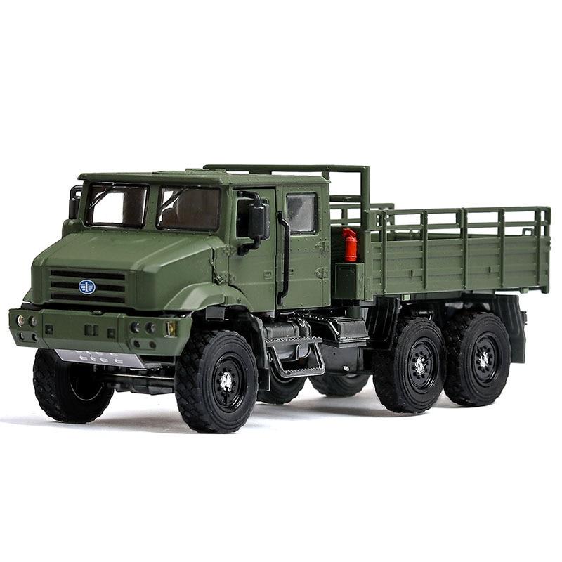 Полностью сплав 1:36 военный MV3 Тактический грузовик сплав модель, моделирование литой звук и свет коллекционная машинка Модель, бесплатная д...