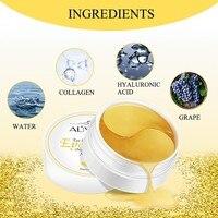24K Eye Masks Care Gold Crystal Collagen 3