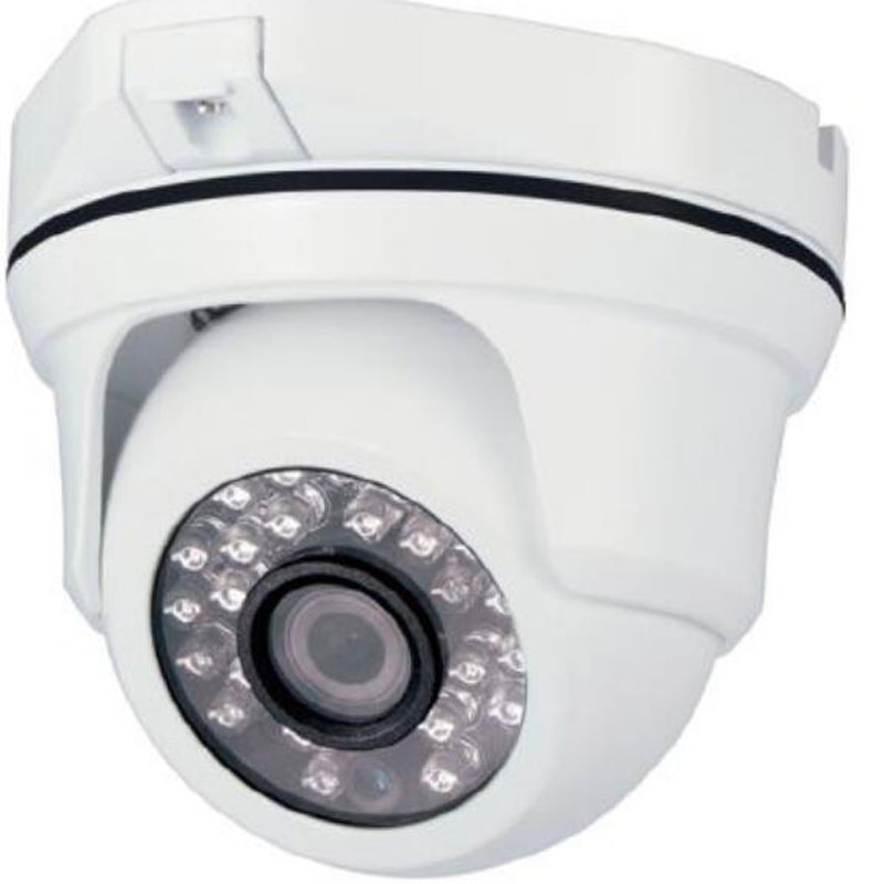 Out/Indoor Security IP Camera 1/2.7CMOS 1080P/2.0MP H.265 CCTV Metal Dome Camera 24 IR Led Night Vision Surveillance Network 1 3 cmos 1000tvl indoor security cctv camera 6pcs blue ir led home video surveillance hd night vision video mini dome camera