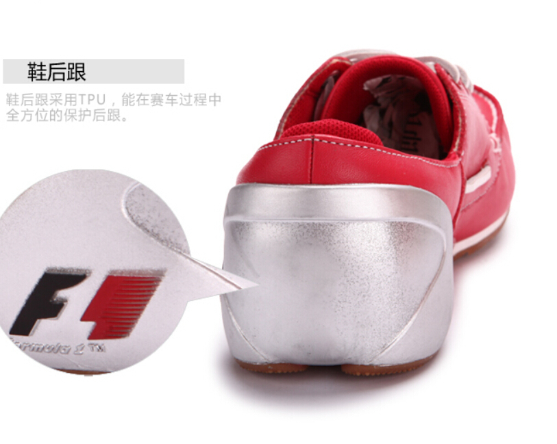 78435019042 New 2014 Fashion Leather F1 Moto Cars Driving Shoes Red 3 Colors Sport Car  Racing Boots Speed Racer Star Alonso Casual Sneaker-in Fitness   Cross- training ...