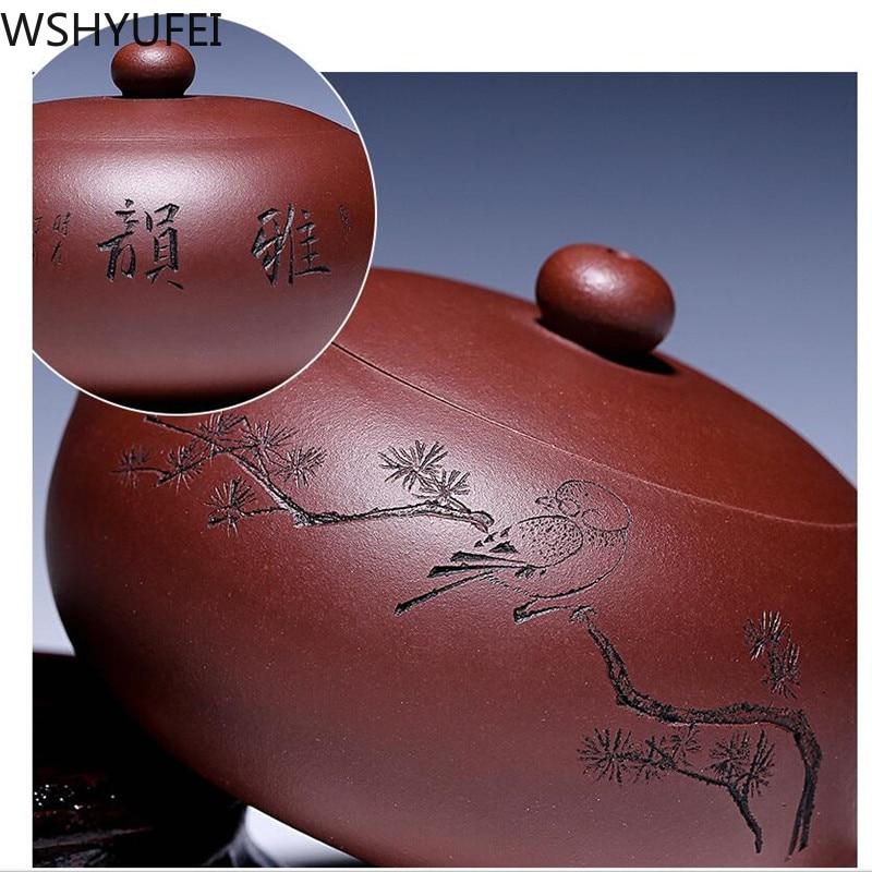 190 ml hecho a mano de vidrio de borosilicato grueso té olla filtro chino KungFu tetera perfumada tarde té accesorio - 3