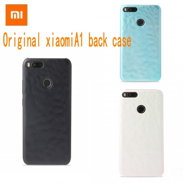 check out f9c85 e593f US $3.99 |Original back case for Xiaomi Mi A1 Mi 5X case New Original Case  Bumper Screen Protector Film PET for Mi 5x Mi a1 Plastic Color-in Fitted ...