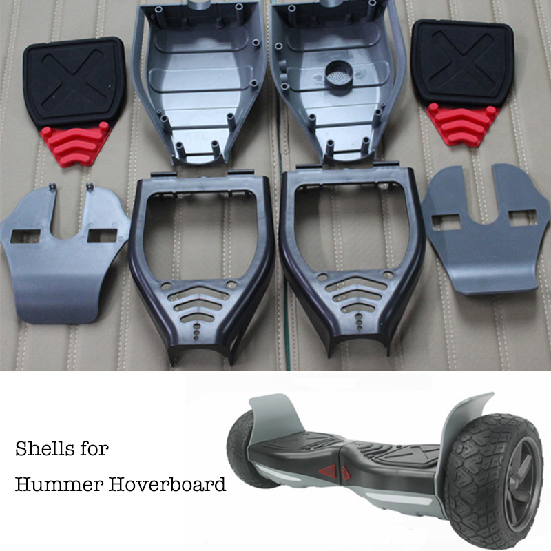 DIY Replacement Case Outer Shell Sets for Ultra Power Hummer Hoverboard 2 Wheel Self Balancing Smart Electric Scooter Skateboard new rooder hoverboard scooter single wheel electric skateboard