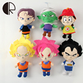 New Arrivals Japaness Anime Dragon Ball Z Plush Toys For Boys Girls Super Hero Goku Vegeta Stuffed Dolls 20CM Cartoon Bringuedos