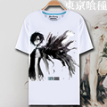 Новинка мужская майка Аниме Череп 3D майка Случайные Летом футболка homme Печати Токио Вурдалака мужские футболки One piece бренд-одежда