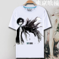 Novelty mens T shirt Anime Skull 3D T shirt Casual Summer t shirt homme Print Tokyo Ghoul mens t shirts One piece brand-clothing