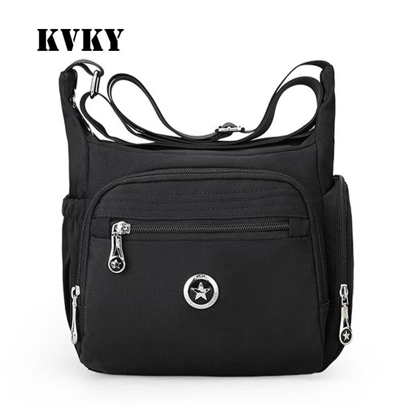 81f1508e7d3 Aotian fashion waterproof nylon summer fresh style solid crossbody women  messenger bag vogue casual tote cute luxury handbags