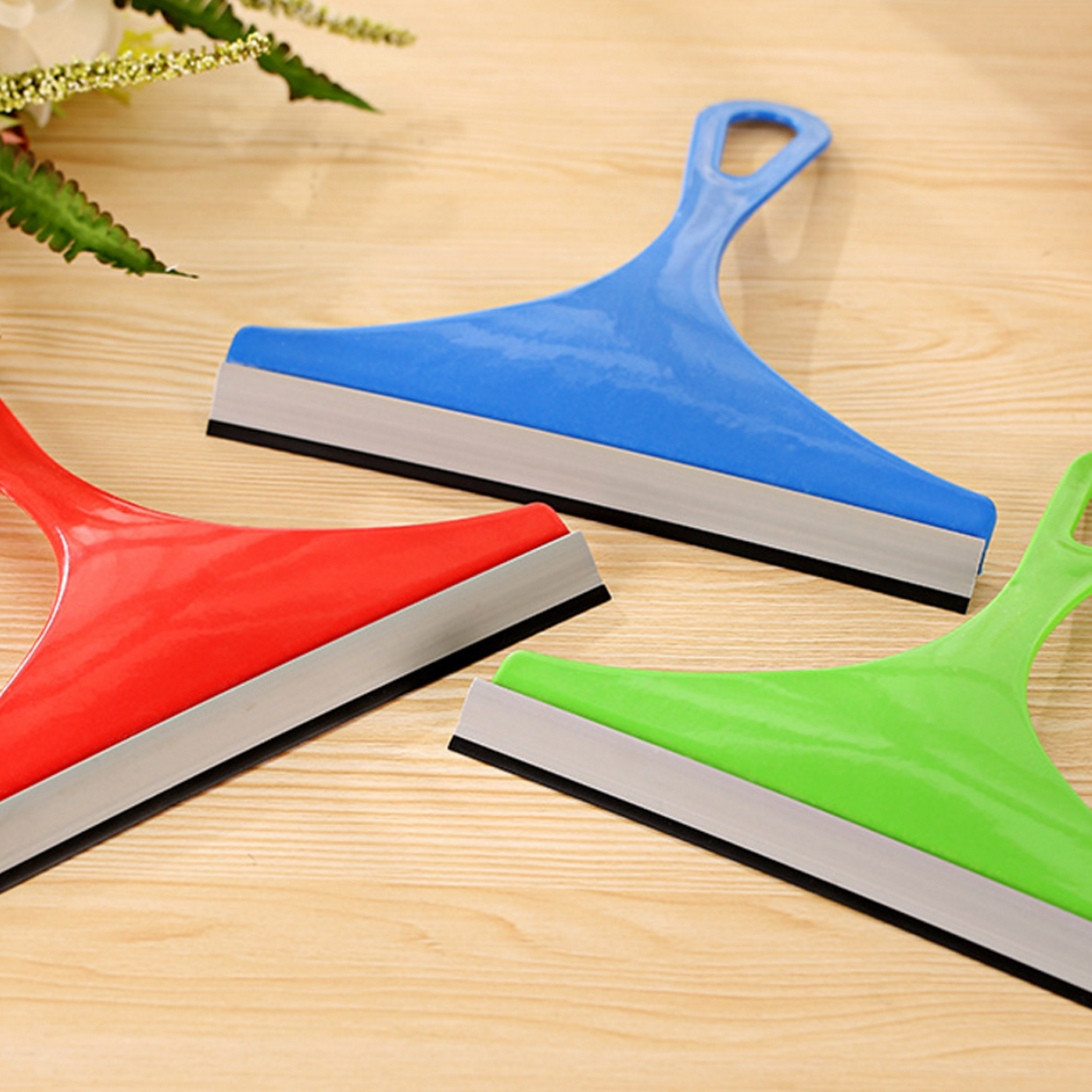 BU-Bauty car Silicone Water Wiper Soap Cleaner Scraper Blade Squeegee Car Vehicle Windshield Window Washing Cleaning Accessories
