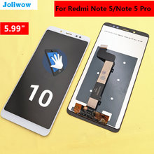 цены на FOR Xiaomi Redmi Note 5 Pro note5 LCD Display Touch Screen Test Good Digitizer Assembly Replacement  в интернет-магазинах
