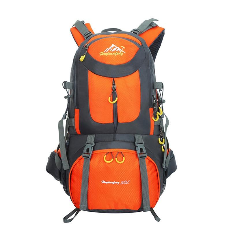 Outdoor Climbing Bag 40L Waterproof Backpack Sport Travel Camping Unisex Portable Shoulder Bag Unisex Tactical Backpack fashionable rainproof outdoor travel sport backpack double shoulder bag black blue