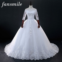 2016 New Shoulder Off White With Red Lace Wedding Dress Long Train Prom Dresses Bridesmaid