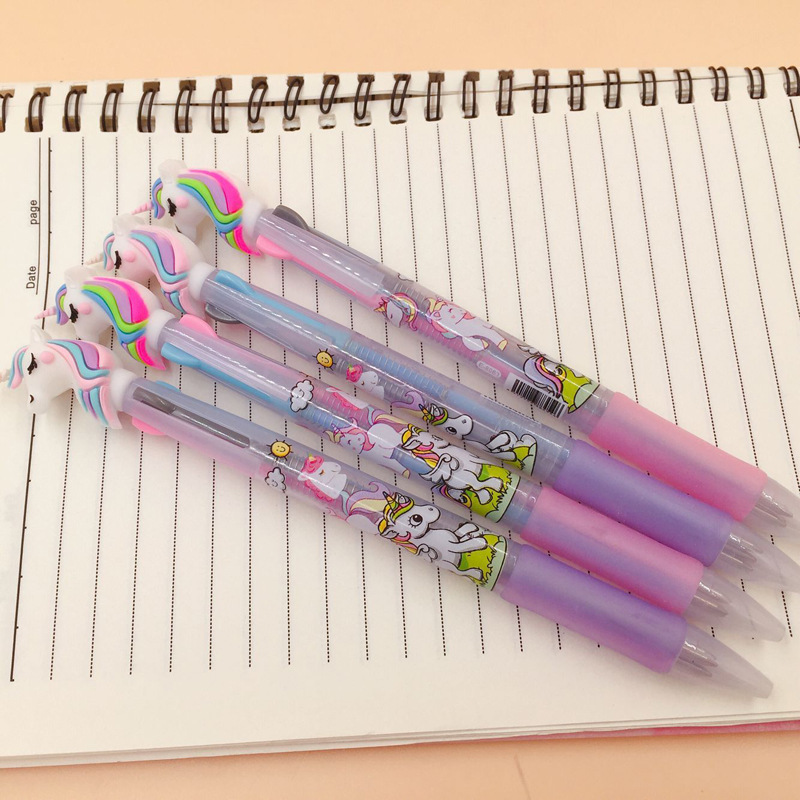 Image 4 - 13 pcs or 36pcs/Lot Color Unicorn Gel Pens 0.5mm Roller Ball Black Ink Pen Writing gift-in Gel Pens from Office & School Supplies